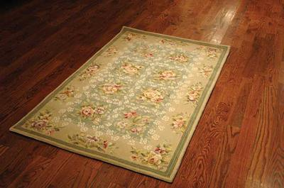 Safavieh French Tapis FT211A Green and Sand
