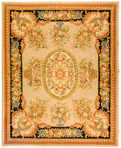 Safavieh French Tapis FT225A Beige and Black