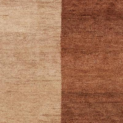 Safavieh Gabbeh GB211A Light Brown and Dark Brown area rug