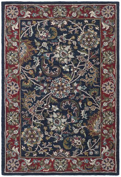 Safavieh Heritage HG164A Blue and Red