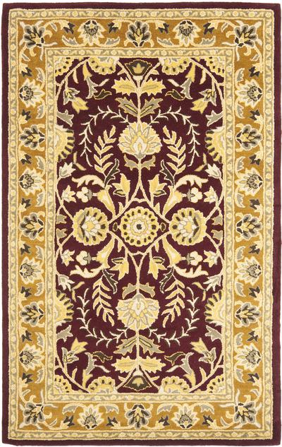 Safavieh Heritage HG261C Red and Gold area rug