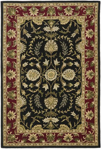 Safavieh Heritage HG261B Black and Red