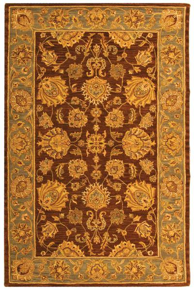Safavieh Heritage HG343J Brown and Blue area rug