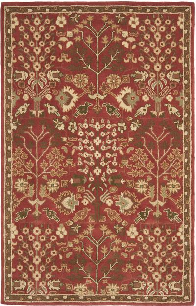 Safavieh Heritage HG421A Red and Green area rug