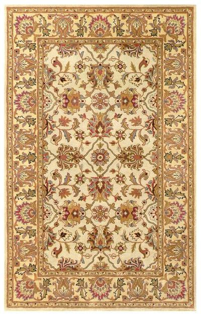 Safavieh Heritage HG452A Ivory and Light Gold area rug