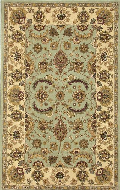 Safavieh Heritage HG453A Light Green and Ivory area rug