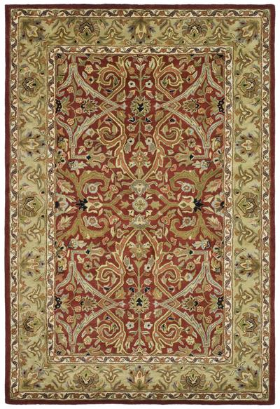 Safavieh Heritage HG644B Red and Gold