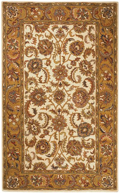 Safavieh Heritage HG759B Ivory and Gold area rug