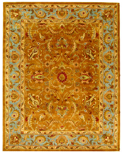 Safavieh Heritage HG812A Brown and Blue