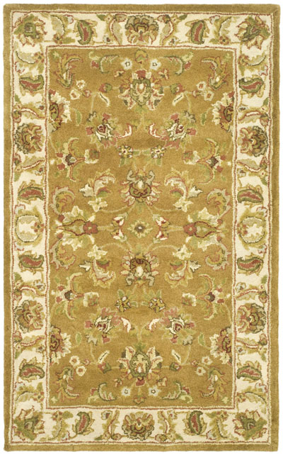 Safavieh Heritage HG816A Mocha and Ivory area rug