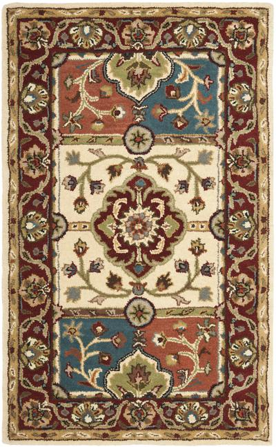 Safavieh Heritage HG925A Multi and Red area rug