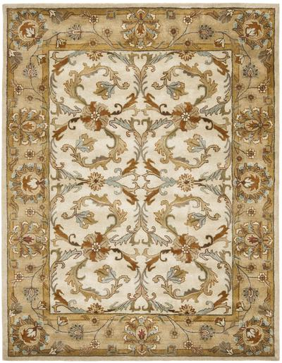 Safavieh Heritage HG967A Beige and Gold area rug