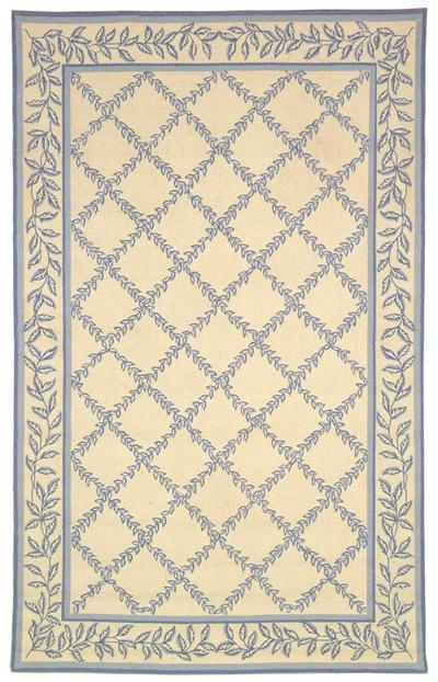 Safavieh Chelsea  HK230A Ivory and Light Blue