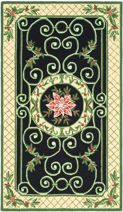 Safavieh Chelsea HK321A Green and Beige area rug