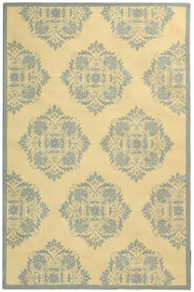 Safavieh Chelsea HK359A Ivory and Blue area rug