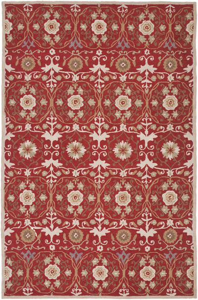 Safavieh Chelsea HK727B Red and Ivory