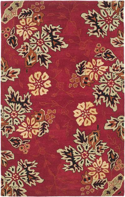 Safavieh Jardin JAR652A Red and Multi area rug