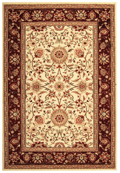 Safavieh Lyndhurst LNH212K Ivory and Red area rug
