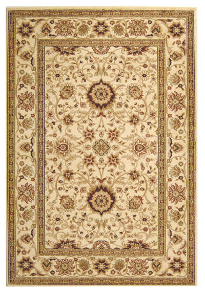 Safavieh Lyndhurst LNH212L Ivory and Ivory area rug
