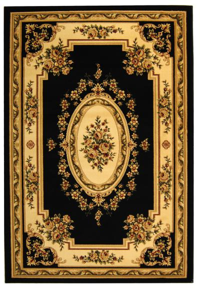 Safavieh Lyndhurst LNH218A Black and Ivory