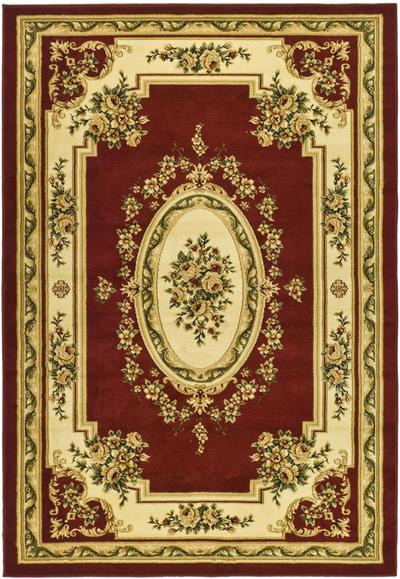 Safavieh Lyndhurst LNH218C Red and Ivory area rug
