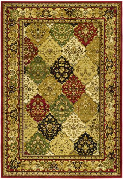 Safavieh Lyndhurst LNH221B Multi and Red area rug