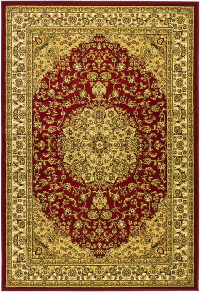 Safavieh Lyndhurst LNH222B Red and Ivory area rug