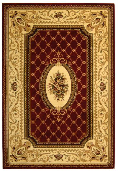 Safavieh Lyndhurst LNH223B Red and Ivory
