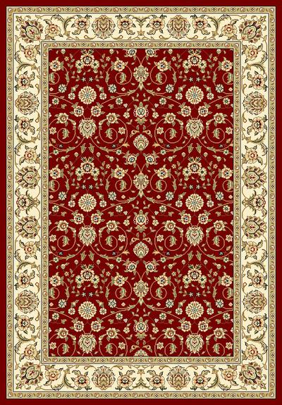 Safavieh Lyndhurst LNH312A Red and Ivory area rug