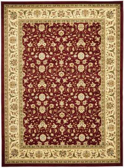 Safavieh Lyndhurst LNH312A Red and Ivory