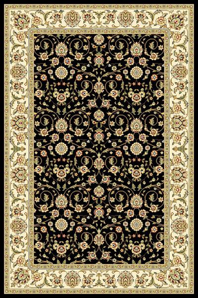 Safavieh Lyndhurst LNH316B Black and Ivory