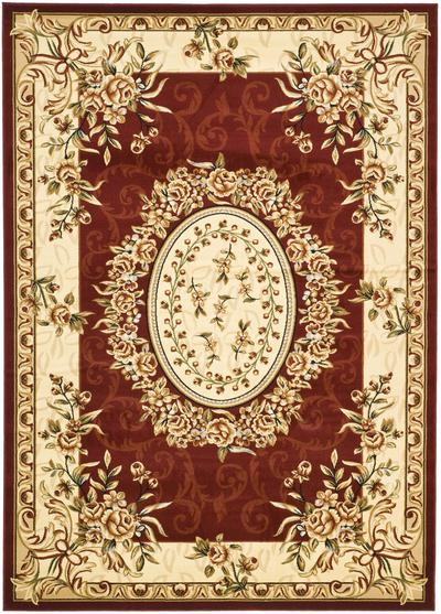 Safavieh Lyndhurst LNH328C Red and Ivory