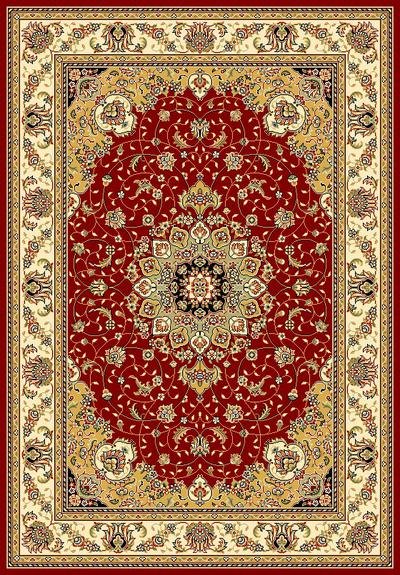 Safavieh Lyndhurst LNH329C Red and Ivory