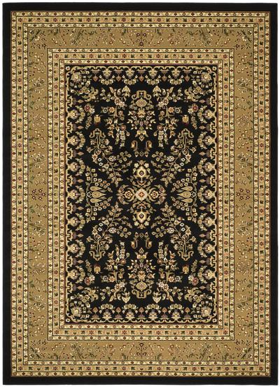 Safavieh Lyndhurst LNH331D Black and Tan
