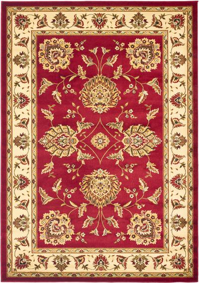 Safavieh Lyndhurst LNH555-4012 Red and Ivory