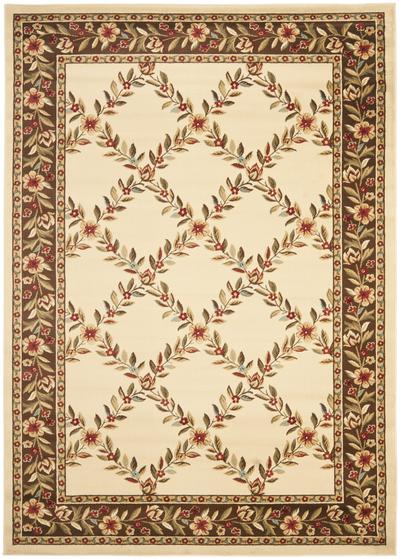 Safavieh Lyndhurst LNH557-1225 Ivory and Brown