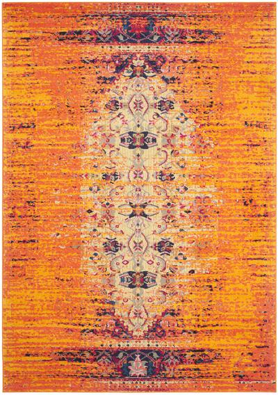 Safavieh Monaco MNC209H Orange and Multi