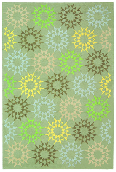 Safavieh Martha Stewart MSR1843H Quilt Opal and Grey