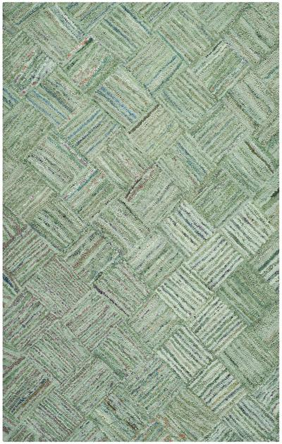 Safavieh Nantucket Nan316a Green And Multi Area Rug Free