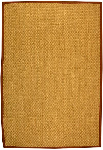 Safavieh Natural Fiber NF114B Natural and Brown area rug