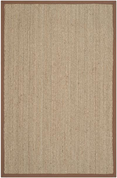 Safavieh Natural Fiber NF115B Natural and Brown