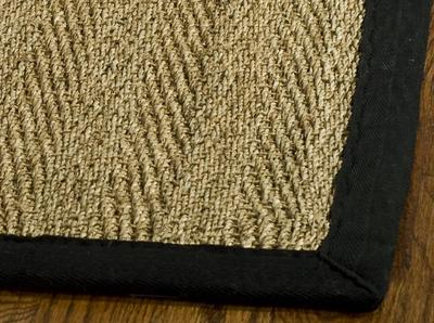 Safavieh Natural Fiber NF115C Natural and Black