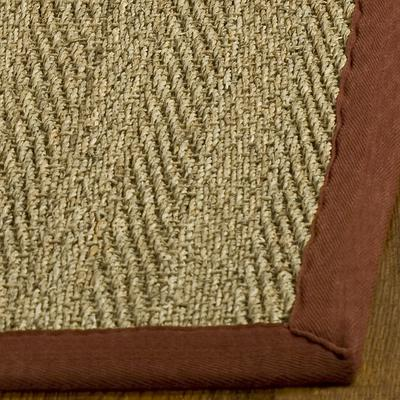 Safavieh Natural Fiber NF115D Natural and Red