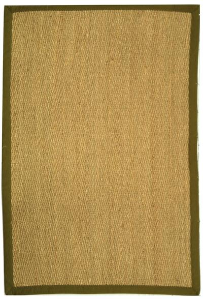 Safavieh Natural Fiber NF115G Natural and Olive area rug