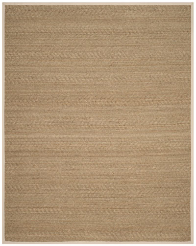 Safavieh Natural Fiber NF115J Natural and Ivory