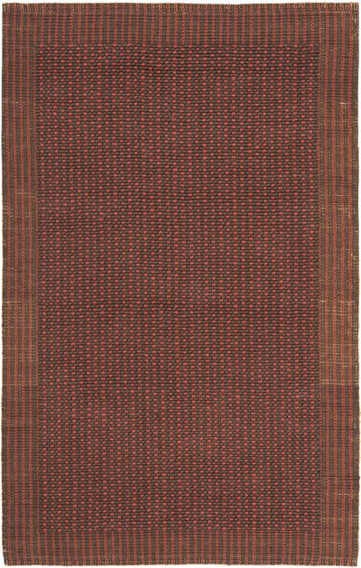 Safavieh Natural Fiber NF451A Brown and Rust area rug