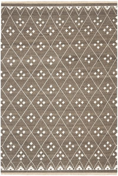 Safavieh Natural Kilim NKM316A Brown and Ivory