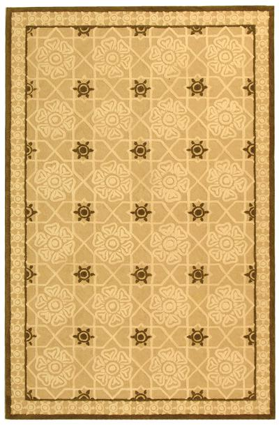 Safavieh Newport NPT423A Creme and Ivory