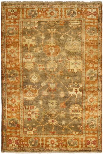 Safavieh Oushak Osh144a Brown And Rust Area Rug Free Shipping