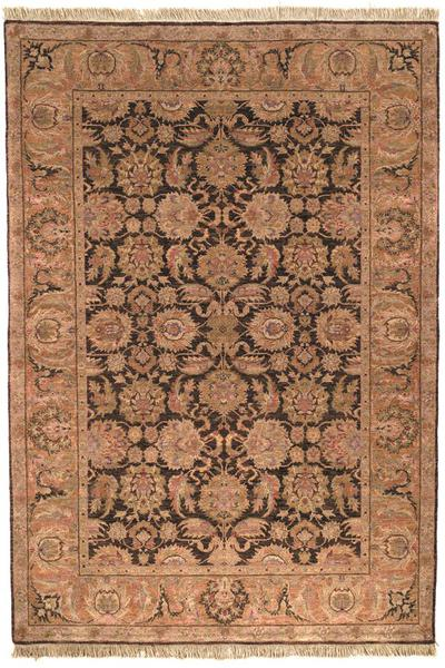 Safavieh Old World OW115B Dark Brown and Gold area rug